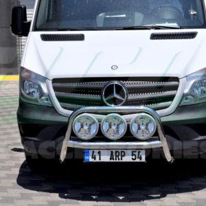 Bullbar fata inox Mercedes Sprinter W906 cod WT025 Lyon