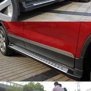 Praguri laterale originale aluminiu si ABS Opel Mokka 2014+