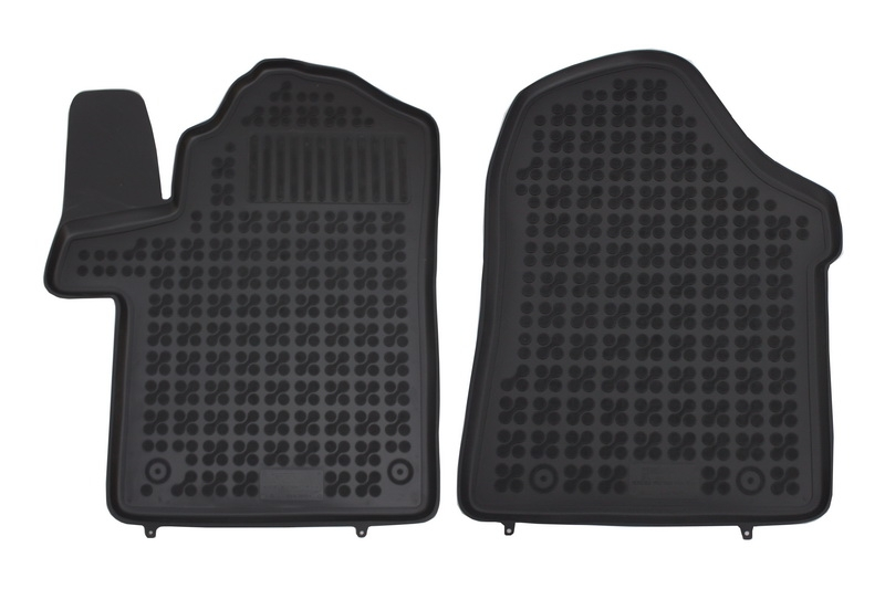 Covorase Presuri Auto Negru din Cauciuc compatibil cu MERCEDES Viano II compatibil cu MERCEDES Vito III 2014-